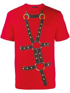Versace футболка с принтом