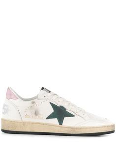 Golden Goose классические кроссовки с нашивкой в форме звезды