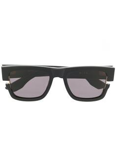 Dita Eyewear солнцезащитные очки в квадратной оправе