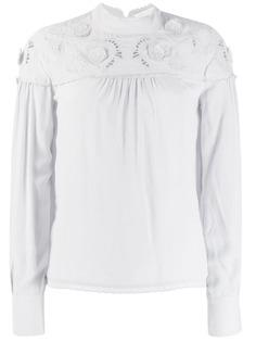 See By Chloé блузка с круглым вырезом