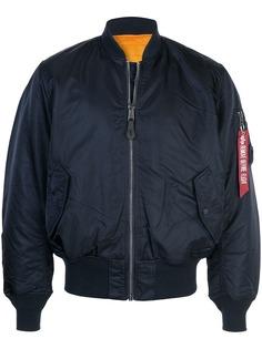 Alpha Industries куртка-бомбер оверсайз