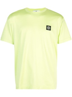 Stone Island футболка с вышитым логотипом