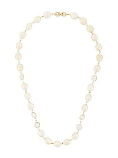 Givenchy Pre-Owned ожерелье с искусственными жемчужинами