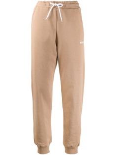MSGM спортивные брюки с кулиской