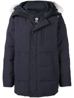 Canada Goose дутое пальто с капюшоном