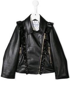 Simonetta байкерская куртка с оборками