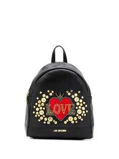 Love Moschino декорированный рюкзак Love