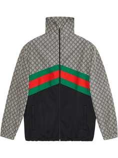 Gucci куртка оверсайз Giacca из джерси
