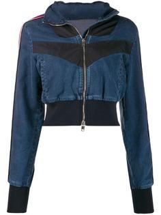 Diesel джинсовая куртка JoggJeans со вставками