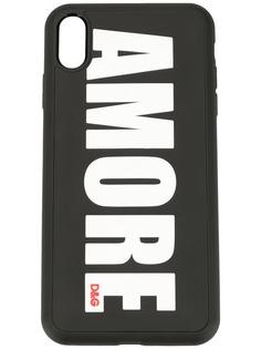 Dolce & Gabbana чехол Amore для iPhone X
