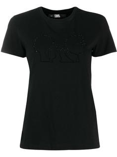 Karl Lagerfeld футболка Karl X Olivia