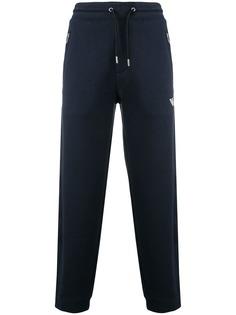 Emporio Armani спортивные брюки с карманами на молниях