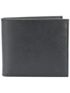 Prada классический бумажник