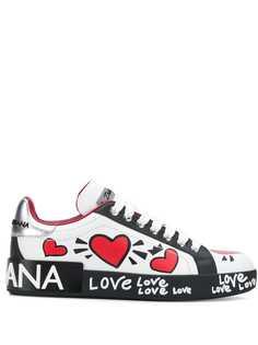 Dolce & Gabbana кроссовки Love