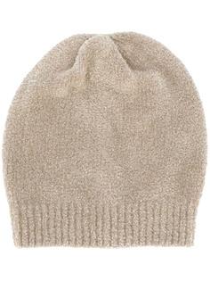 Brunello Cucinelli кашемировая шапка бини