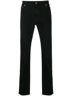 Etro джинсы с принтом по бокам