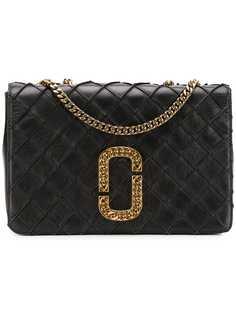 Marc Jacobs стеганая сумка с двойной J