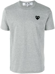 Comme Des Garçons Play футболка с заплаткой в форме сердца