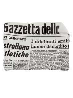 Fornasetti пепельница La Gazzetta dello Sport