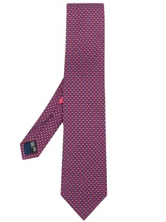 Salvatore Ferragamo галстук с геометричным принтом