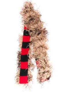 Miu Miu шарф с перьями