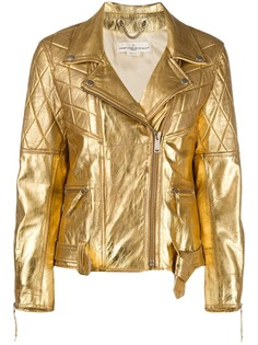 Golden Goose куртка с эффектом металлик