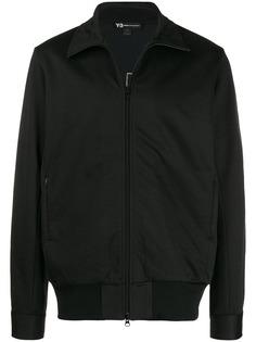 Y-3 куртка-бомбер на молнии