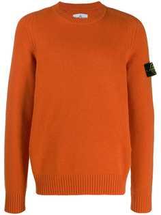Stone Island свитер с длинными рукавами и логотипом