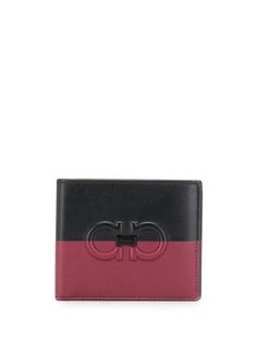 Salvatore Ferragamo двухцветный бумажник