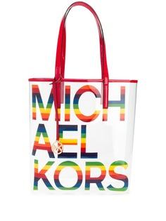 Michael Michael Kors сумка-тоут с контрастным логотипом