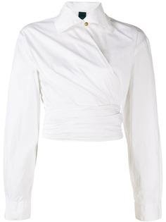 Romeo Gigli Pre-Owned юбка 1990-х годов с запахом