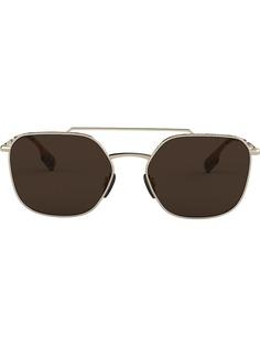 Burberry Eyewear солнцезащитные очки-авиаторы