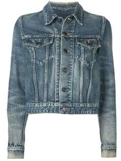 Saint Laurent классическая джинсовая куртка