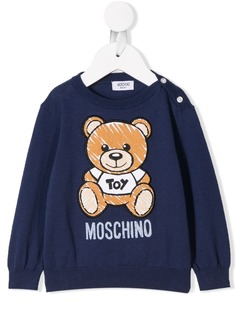 Moschino Kids джемпер с принтом Teddy Bear