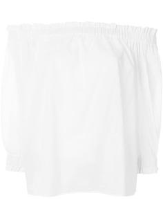Emporio Armani блузка с открытыми плечами