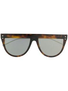 Fendi Eyewear солнцезащитные очки в оправе черепаховой расцветки