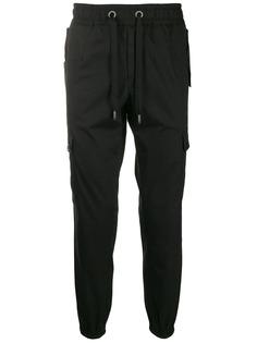 Dolce & Gabbana брюки карго с лампасами