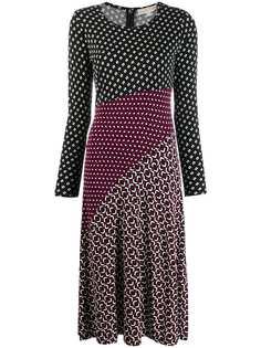 Michael Michael Kors платье миди с контрастными вставками