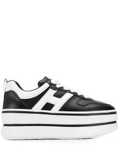 Hogan кроссовки на платформе