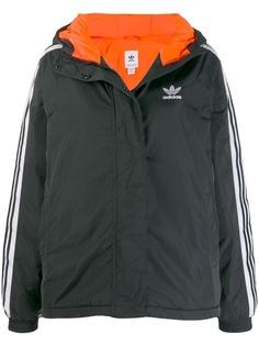 Adidas короткая куртка с капюшоном