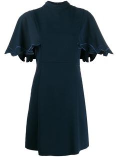 See By Chloé платье мини с расклешенными рукавами