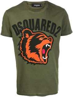 Dsquared2 футболка с принтом