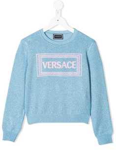 Young Versace толстовка с логотипом