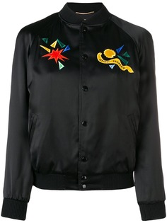 Saint Laurent куртка-бомбер