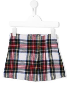 Il Gufo юбка мини в клетку тартан