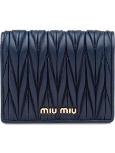 Miu Miu стеганый кошелек
