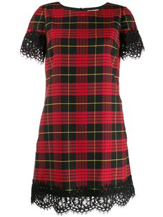 TWINSET кружевное платье с фестонами