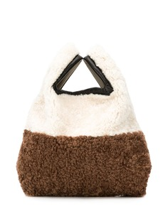 Simonetta Ravizza мини-сумка с овчиной