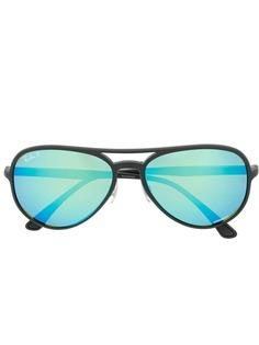 Ray-Ban солнцезащитные очки в овальной оправе
