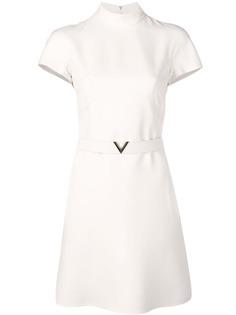 Valentino платье с поясом